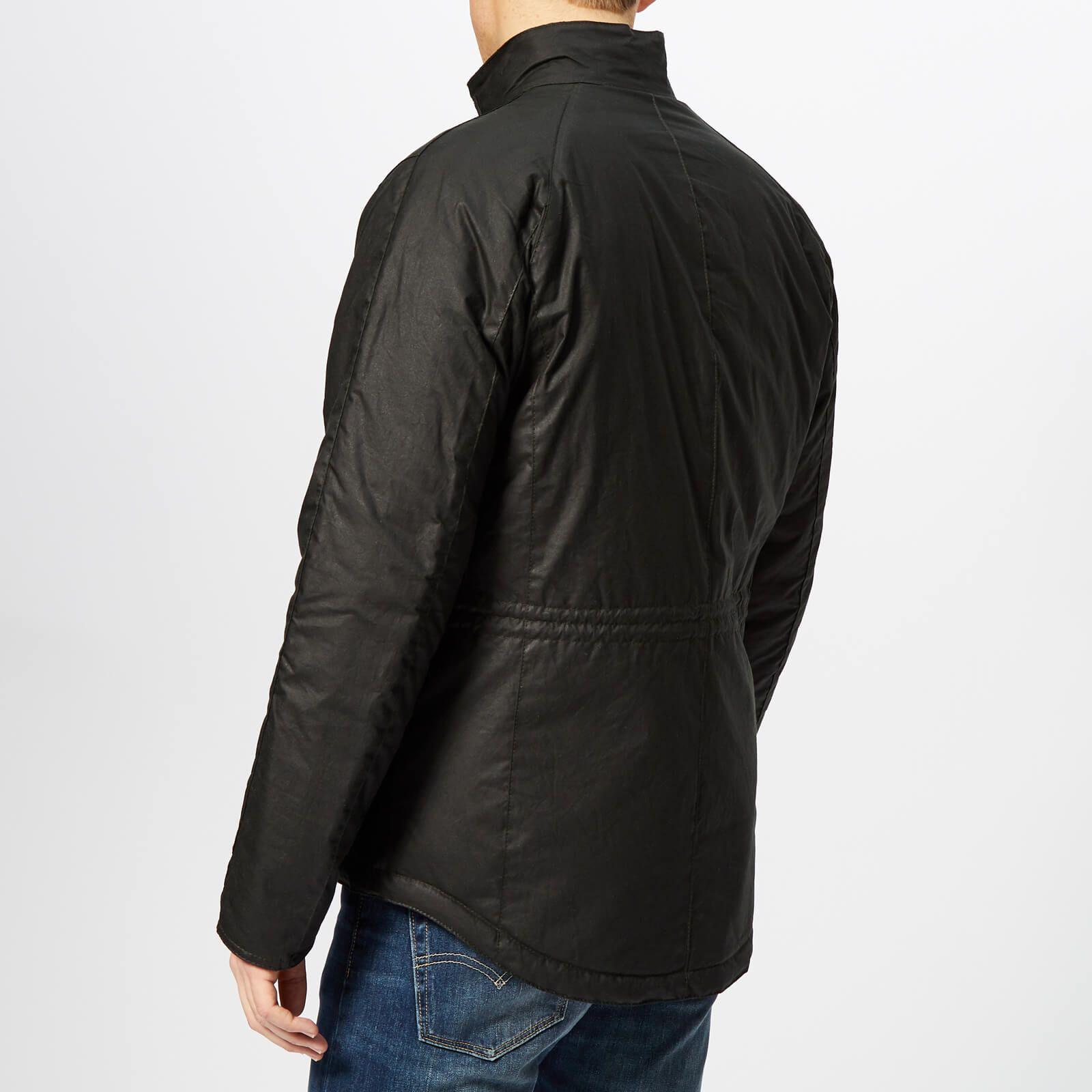 4ae8aeb935 Barbour International Men's Lever Wax Jacket - Sage in 2019 ...
