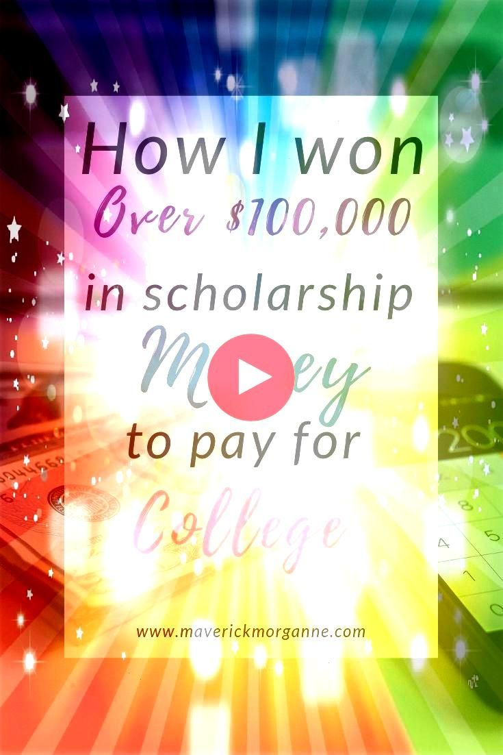 won over 100000 in scholarships How to pay for college through scholarshipsHow to pay for college through scholarships Here are for you from January to December Ready Ref...