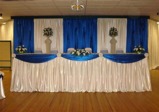 Royal Blue Wedding Decorations Ideas Home Chair Covers