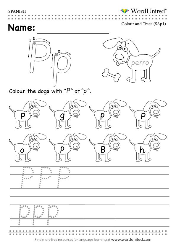 Printable Worksheets spanish worksheets for adults : Read and write the Spanish alphabet - WordUnited. #free#worksheet ...
