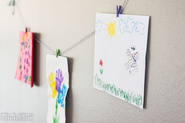 Wall Art Playroom design and decor ideas, Part 5 of Home Tour http://fantabulosity.com