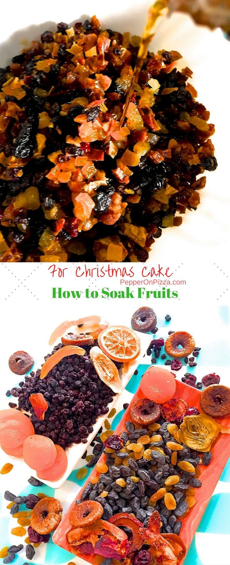 Soak Fruits for Christmas Cake | Recipe | Let's share the