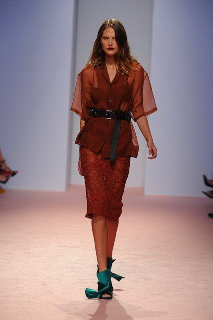 N° 21 Spring Summer 2015 * Bourgeois punk, N°21 woman collection spring summer 2015