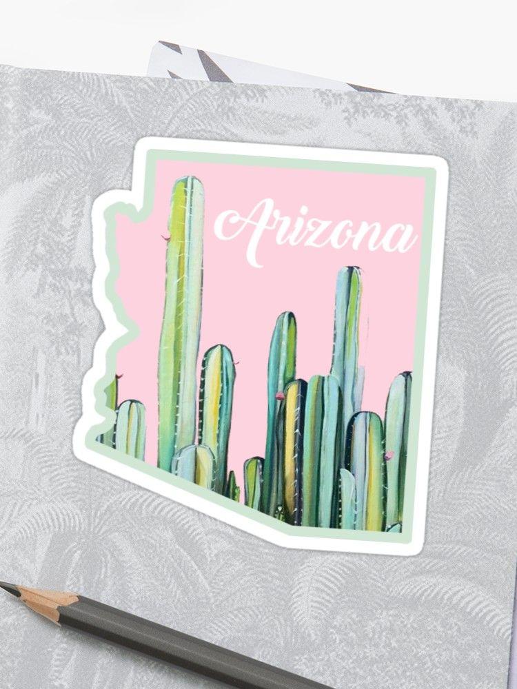'Arizona Cactus State' Sticker by baileymincer #arizonacactus