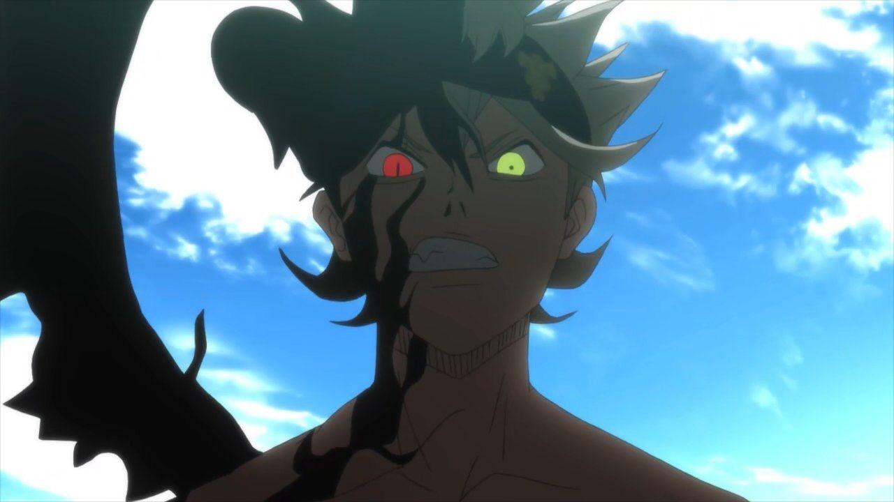 Black Clover Characters Asta Demon Form Wallfree