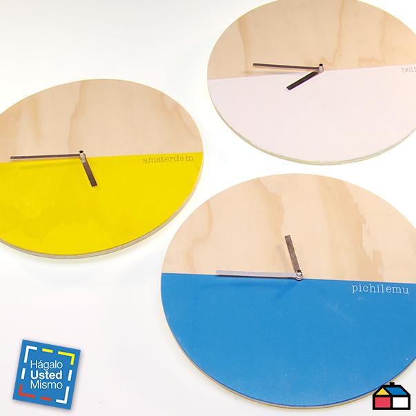 ¿Cómo hacer un reloj de madera? #HagaloUstedMismo