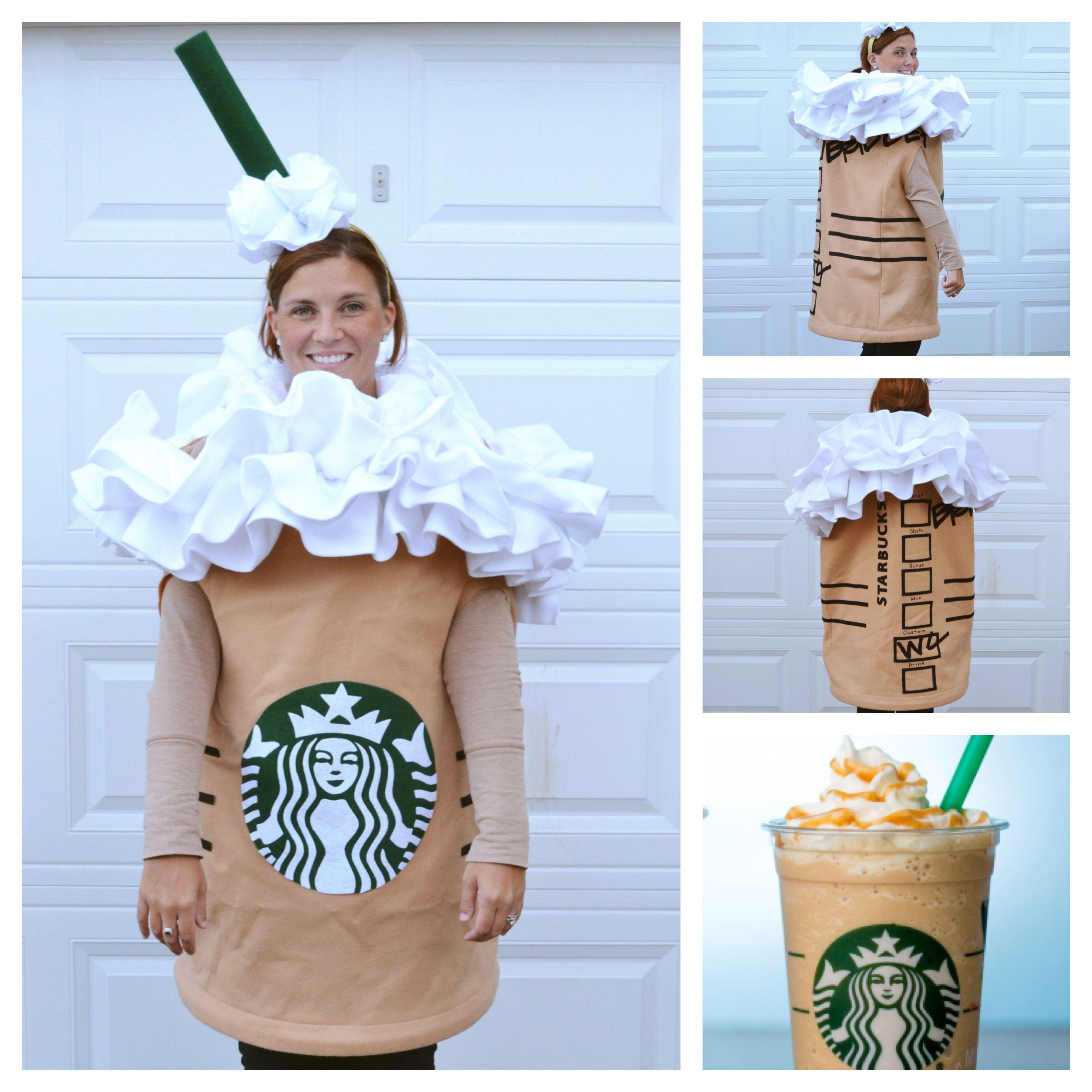 Starbucks Frappuccino Halloween Costume Felt Pellon