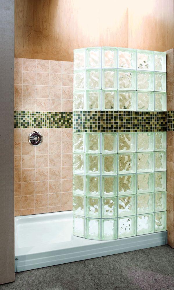 glasbausteine f r dusche sehr sch nes design badezimmer pinterest pelz. Black Bedroom Furniture Sets. Home Design Ideas