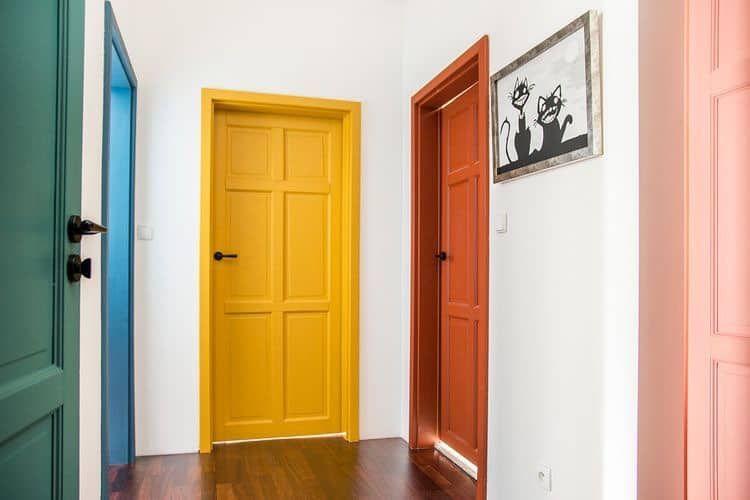 20 vrolijke verf ideeën voor in je huis
