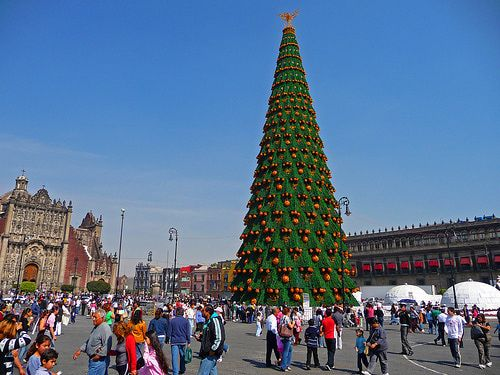 Christmas In Mexico Christmas Tree Christmas Traditions And  - Spanish Christmas Trees