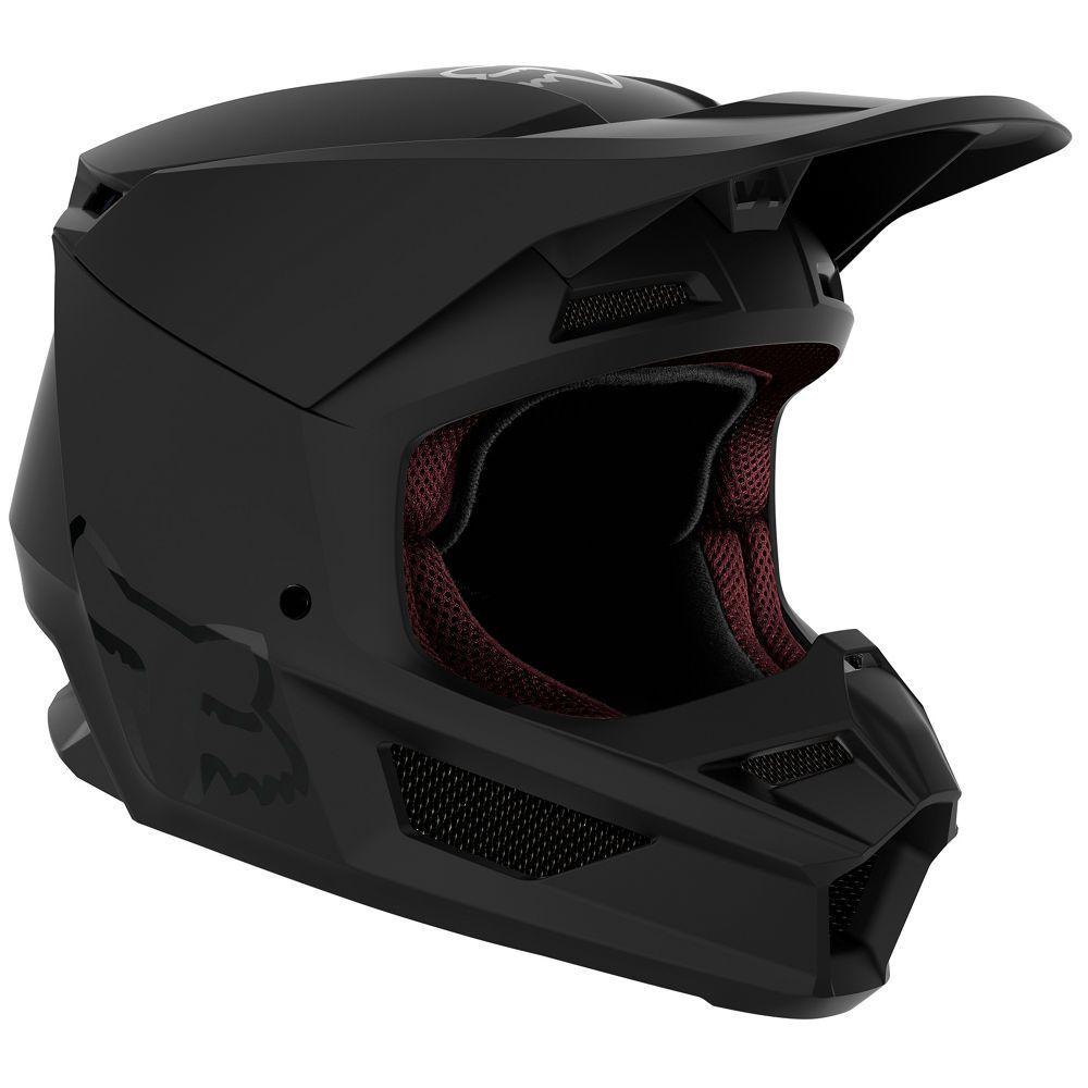 V1 Matte Helmet Mt Blk Xs Matte Black Helmet Black Helmet Helmet