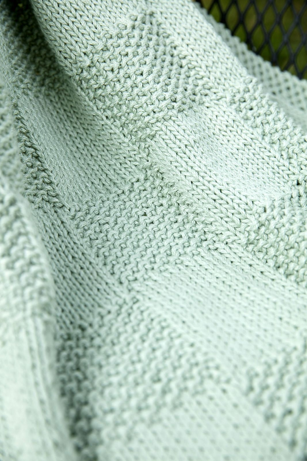 Ravelry: F678 Seed Blocks Baby Blanket by Plymouth Yarn Design ...