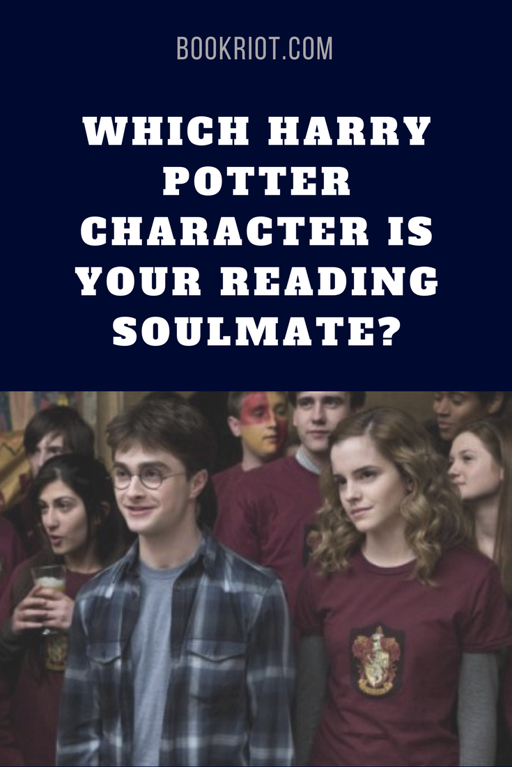 Quiz: Which Harry Potter Character is Your Reading Soulmate