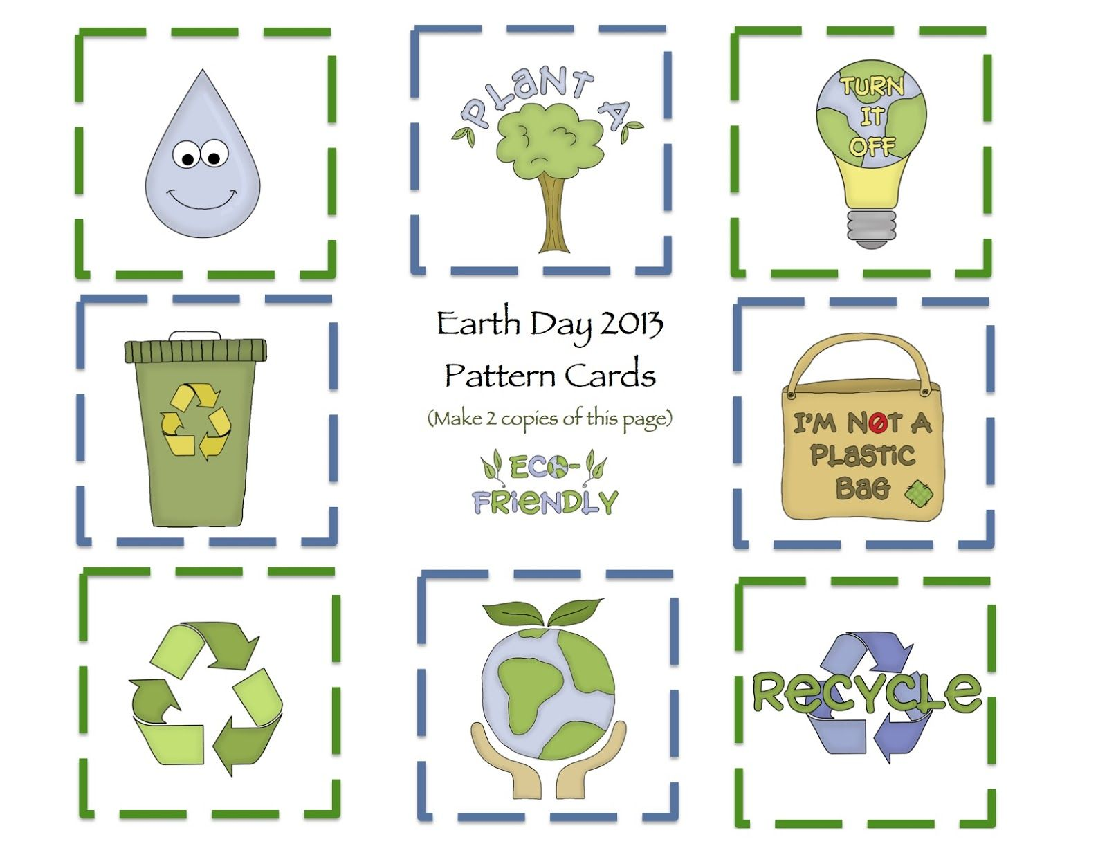 Earth Day Printable Preschool Printables by Gwyn Pinterest