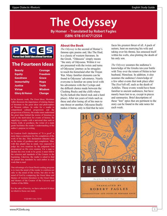 the odyssey robert fagles study guide with answer key comprehension questions homework. Black Bedroom Furniture Sets. Home Design Ideas