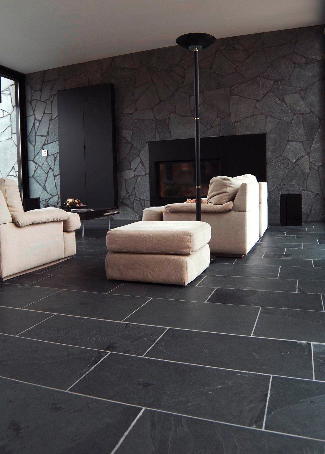 China Solid Surface Natural Slate Ceramic Tiles Supplier