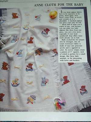 Baby Animals Afghan Counted Cross Stitch Pattern From