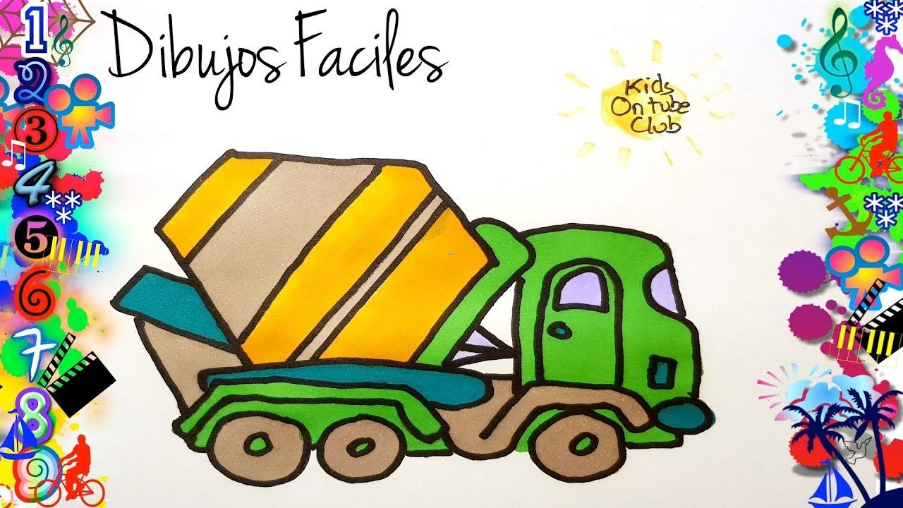 Dibujos Faciles Para Ninos Camion Como Dibujar Dibujos Dibujos Faciles Para Ninos Dibujos Faciles Dibujos Para Ninos