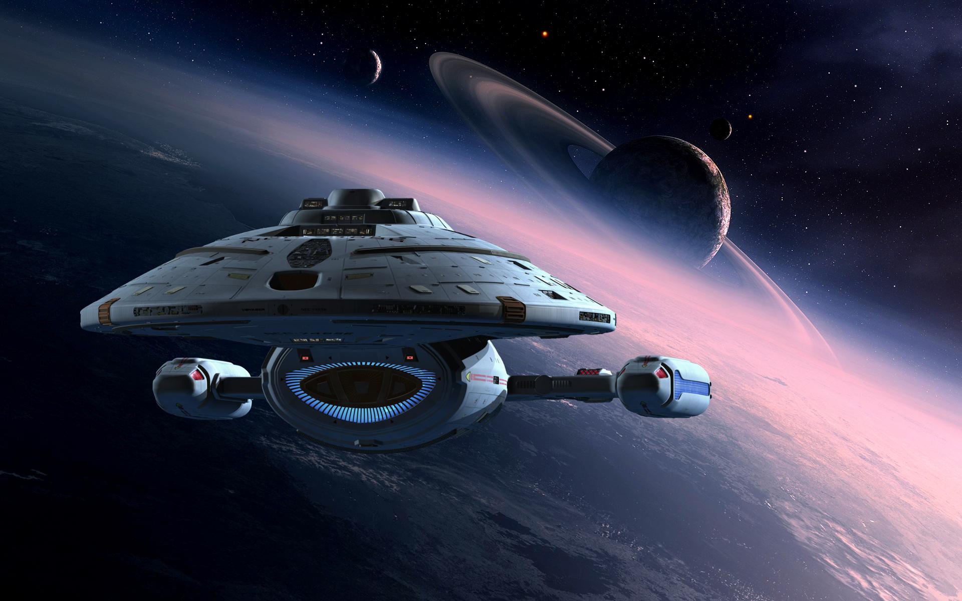 Starship Voyager Tv Show Star Trek Voyager Star Trek Voyager Science Fiction Star Trek Wallpaper Star Trek Voyager Ship Star Trek Starships