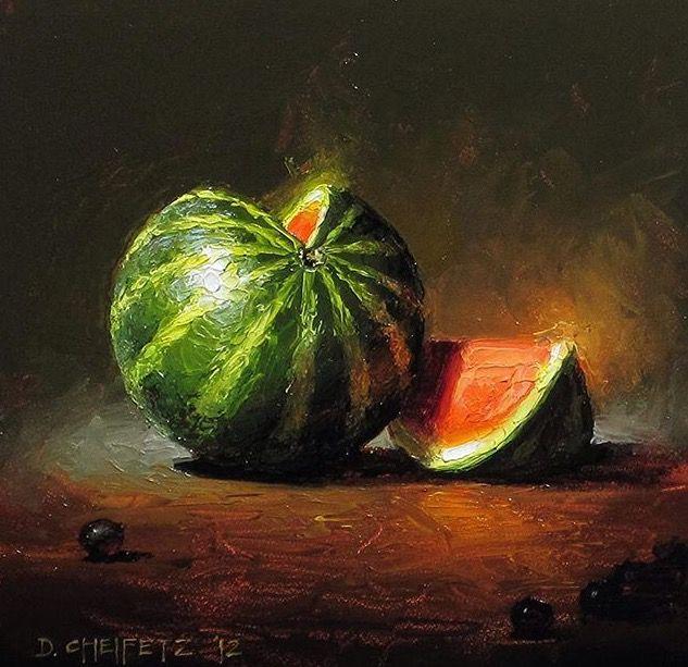 David Cheifetz painting