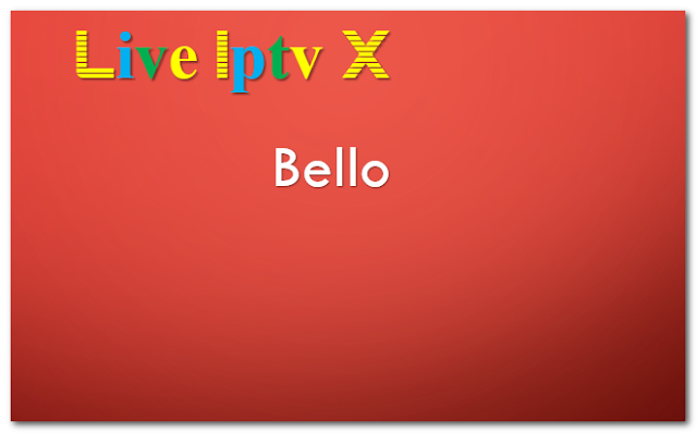 Kodi Bello Skin Addon - Download Bello Skin Addon For IPTV - XBMC - KODI   KodiBello Skin Addon  Bello Kodi Skin Addon  Download Kodi Bello Skin Addon  Video Tutorials For InstallXBMCRepositoriesXBMCAddonsXBMCM3U Link ForKODISoftware And OtherIPTV Softwar