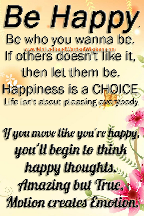 Motivational Words Of Wisdom Today Count Your Blessings And Think