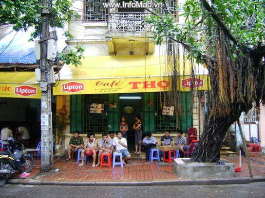 Café Thọ - un des vieux cafés de rue à Hanoi