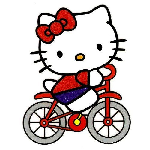 Amazon Com Hello Kitty Riding Bike Bicycle Iron On Transfer For T Shirt Sanrio Other Products Hello Kitty Wallpaper Hello Kitty Bike Hello Kitty Pictures