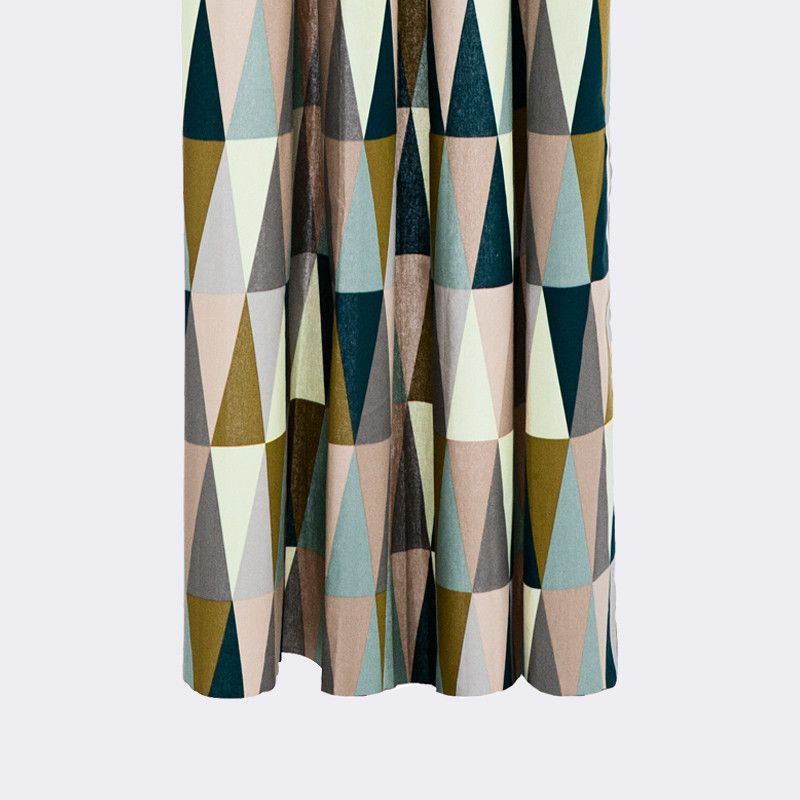 Spear Shower Curtain By Ferm Living Contemporary Shower Modern Shower Curtains Modern Bathroom Accessories