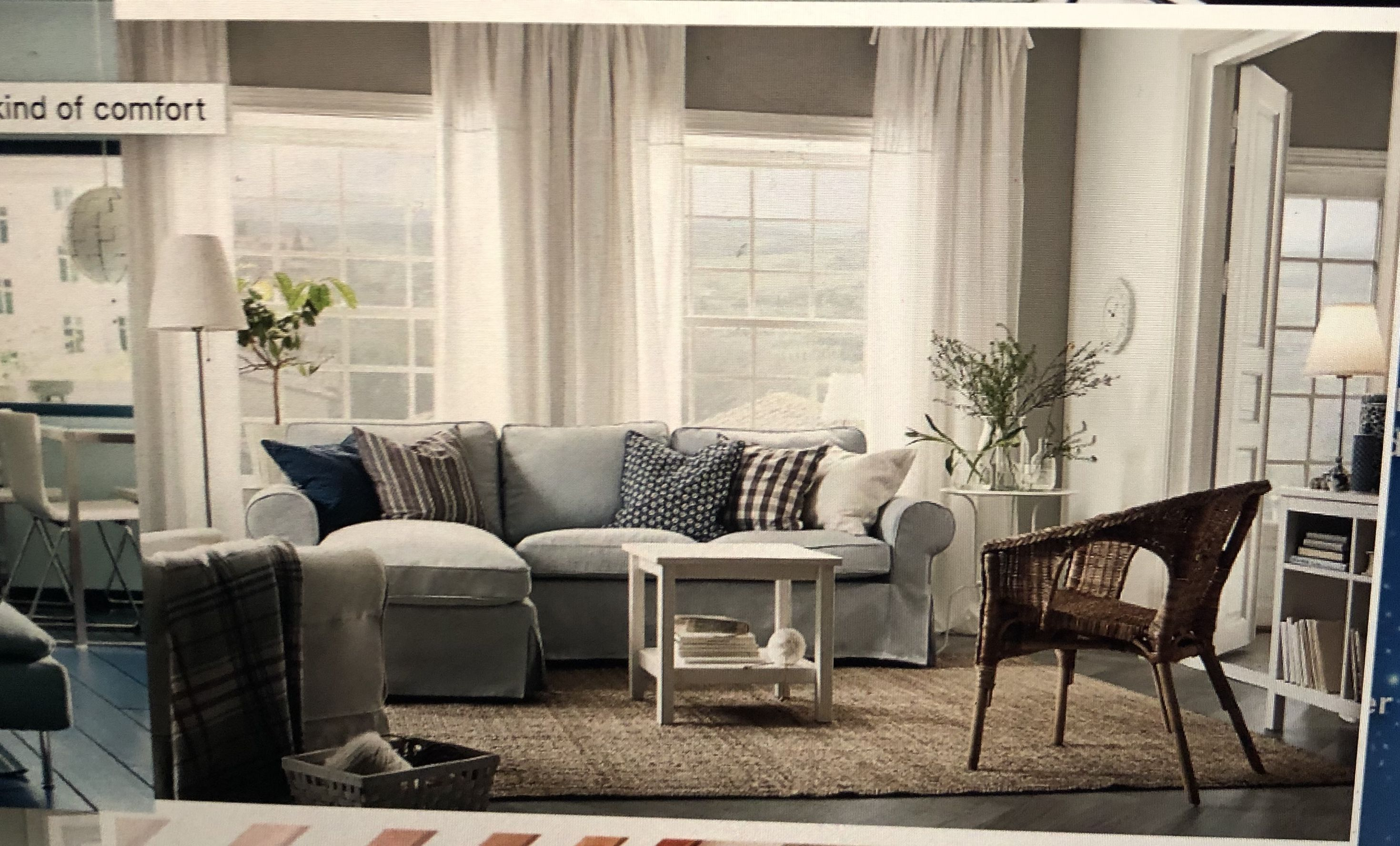 Pin By Dawn Salliotte On Decor With Images Ikea Living Room Ektorp Living Room