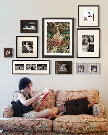 Scanning Your Pictures Wall Decor Living Room Wall Collage Cool Walls