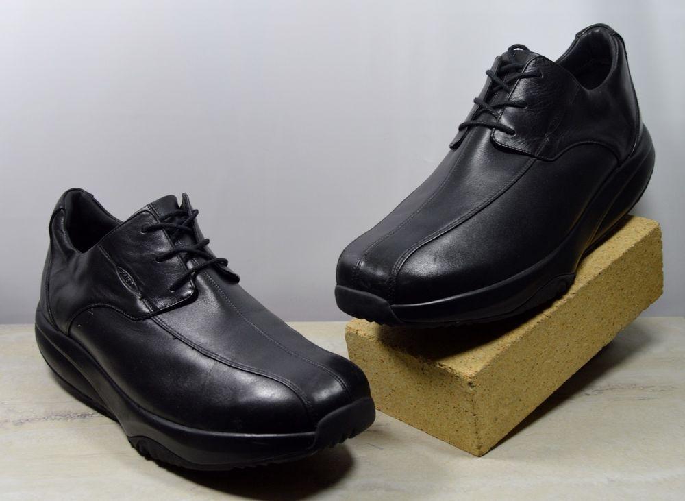 085e343fcc1c MBT Bia Black Leather Walking Oxfords 400184-03 Men s US Size 11 M  MBT   Oxfords