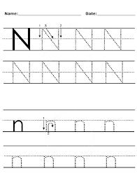 letter n worksheets for preschool and kindergarten preschool and kindergarten letter crafts. Black Bedroom Furniture Sets. Home Design Ideas