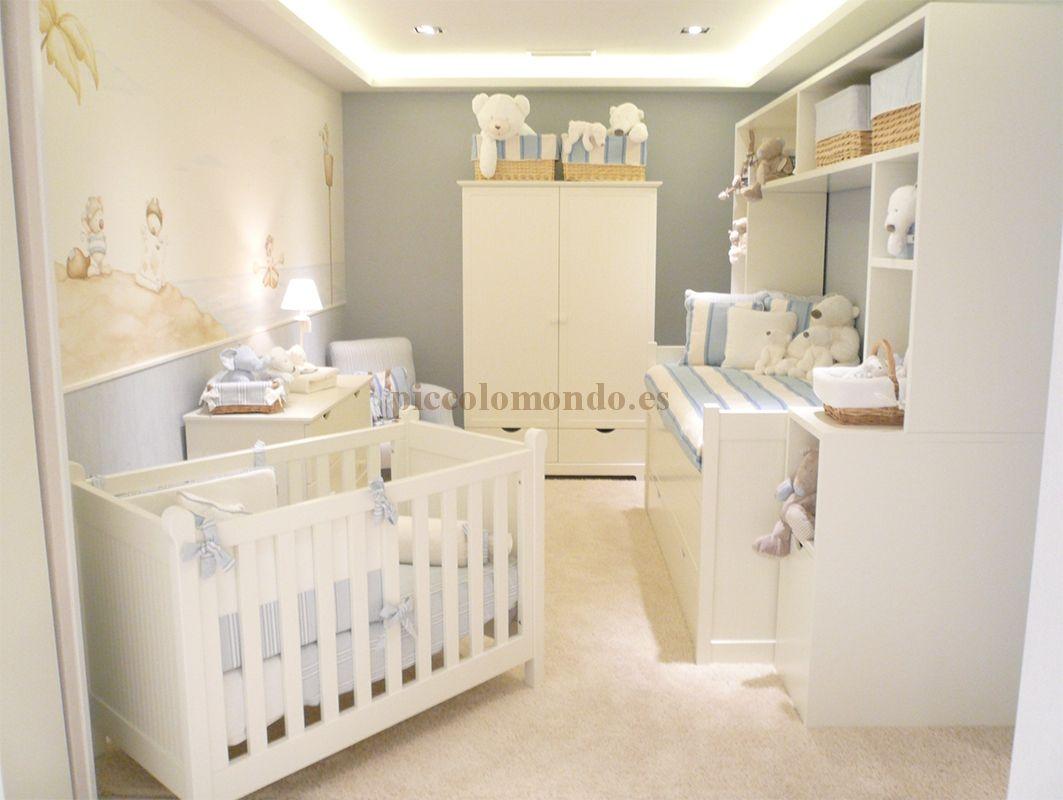 Mobiliario infantil piccolo mondo coleccion colonial - Mobiliario habitacion bebe ...