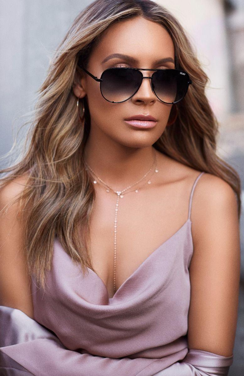 Quay Australia sunglasses High Key Black Fade x Desi  brand new