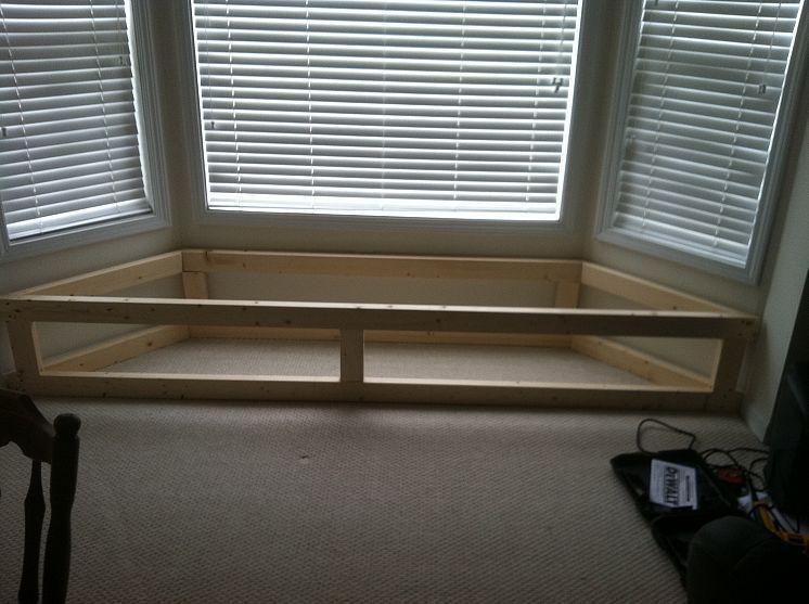 Bay Window Flip Top Storage Bench Window Window
