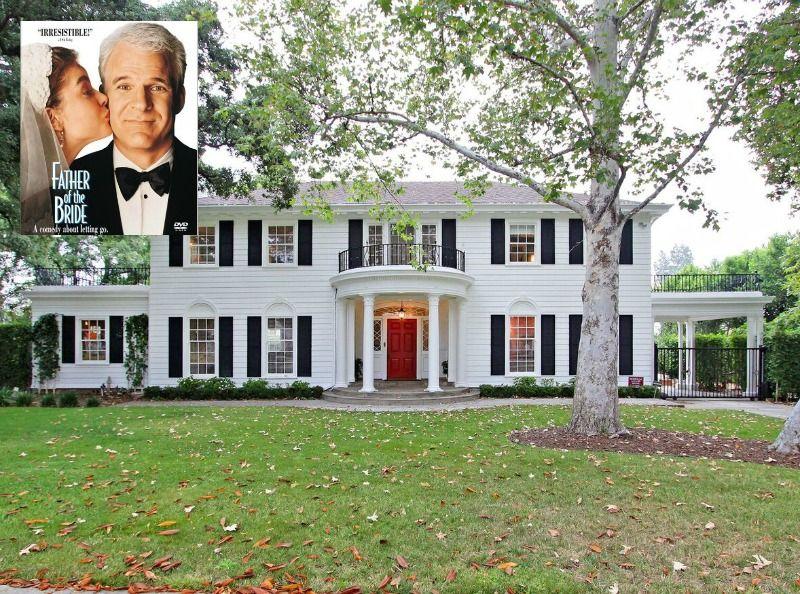 """Steve Martin's Yellow House in the Movie """"Housesitter ..."""