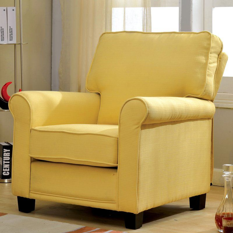 Yellow Accent Chairs, Furniture, Living