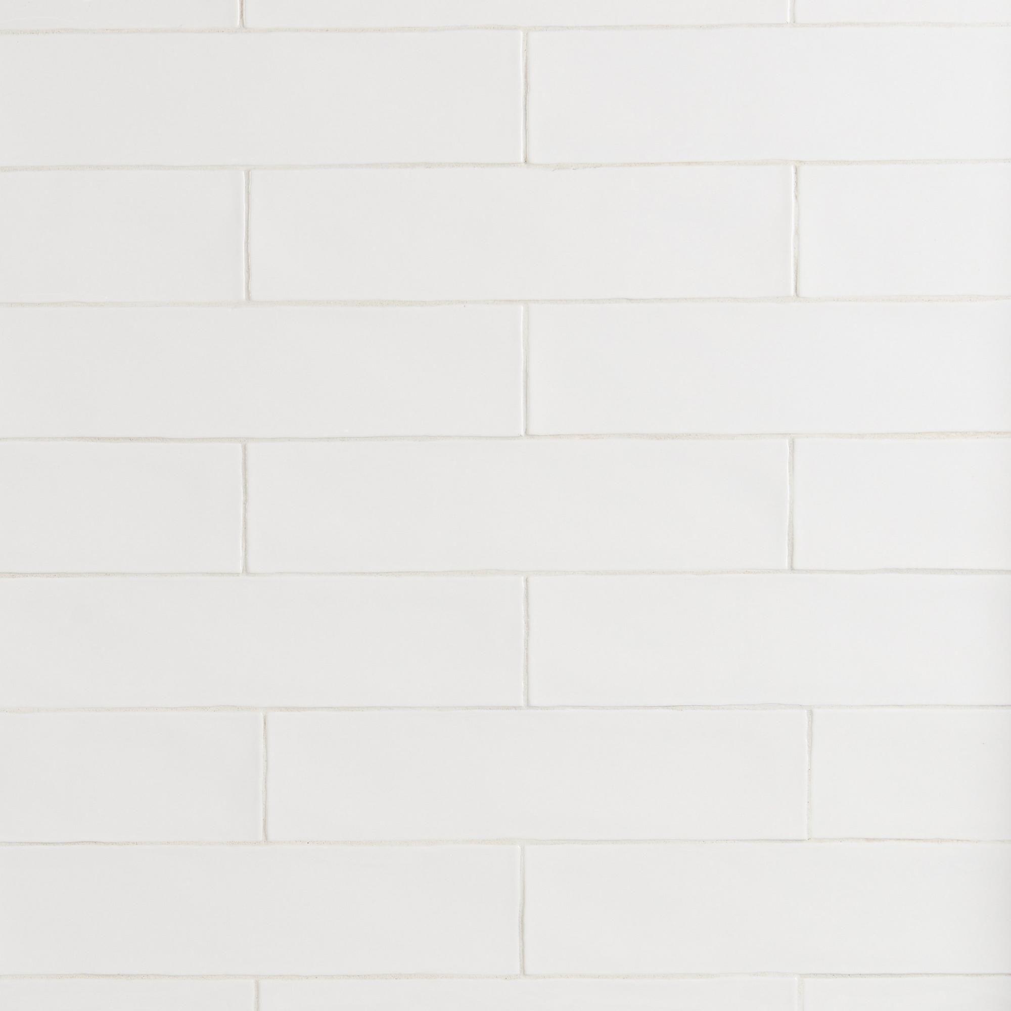 Villa Artisan Frost Porcelain Tile - 3in. x 12in. - 100185792   Floor and Decor