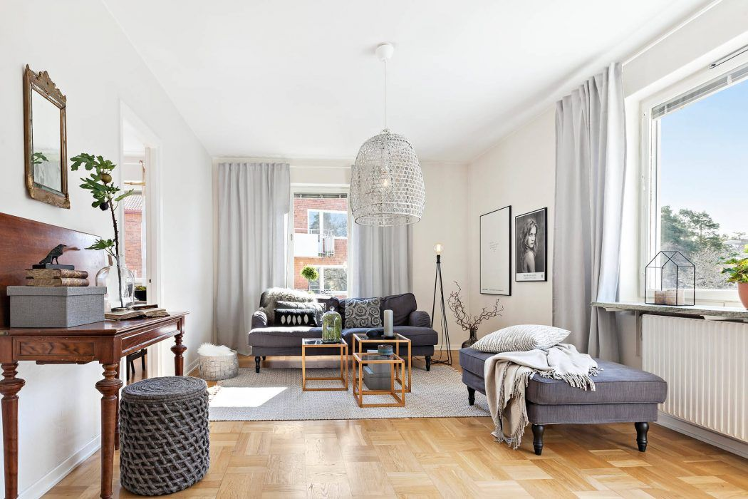 Svartågatan Apartment by Inne | HomeAdore | Dream Homes | Pinterest ...