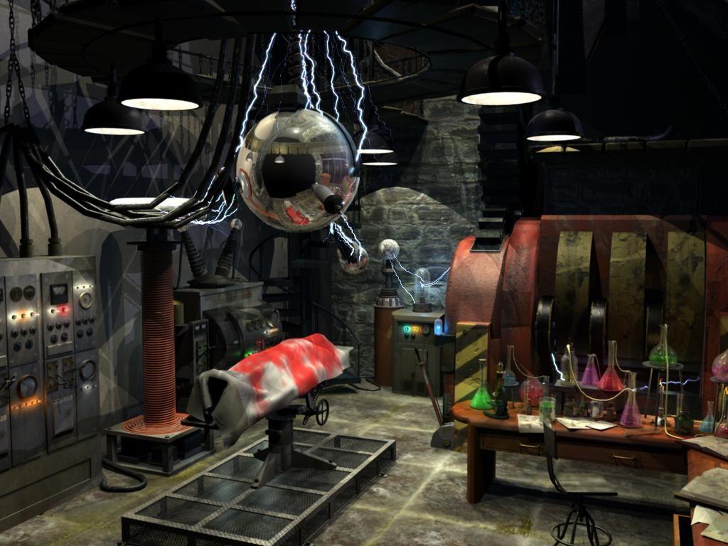 Frankenstein Lab By Beaksmonster On Deviantart Halloween Science Halloween Props Halloween Monster