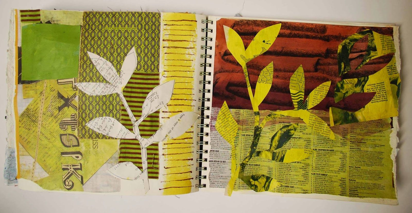 Mandy Pattullo/Thread and Thrift: More pages from my sketchbook