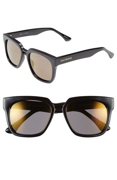 3468a80a97 Women s Isaac Mizrahi New York 50mm Sunglasses - Navy