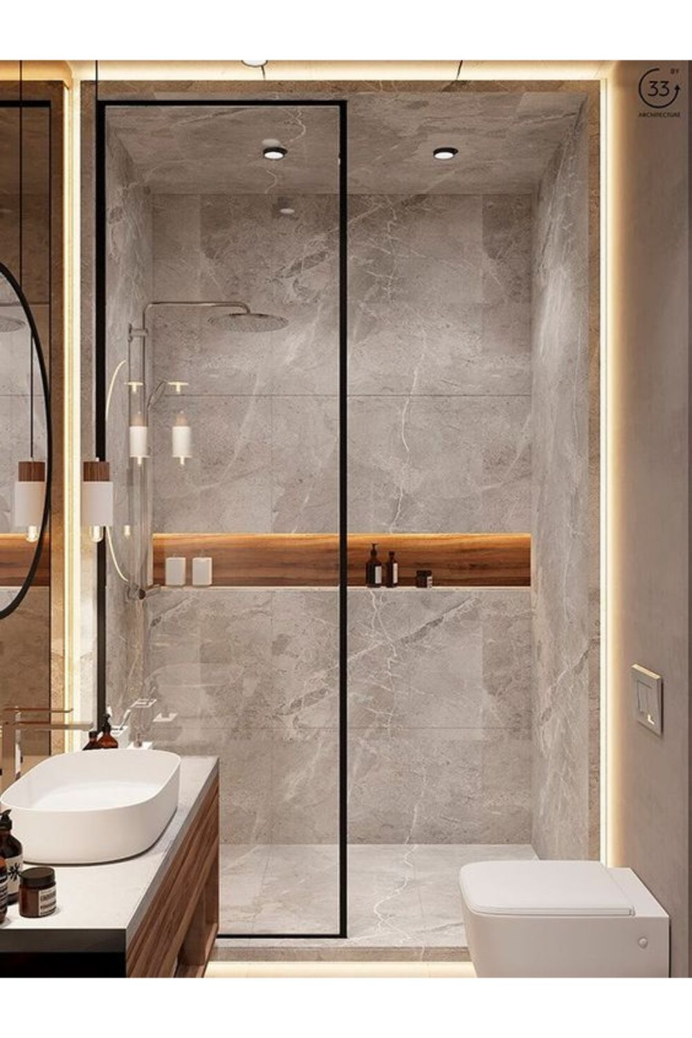 Modern Bathrooms With The Most Aesthetically Pleas