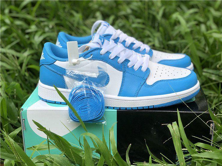 2019 Shoes Nike SB x Air Jordan 1 Low UNC ark Powder Blue in ...
