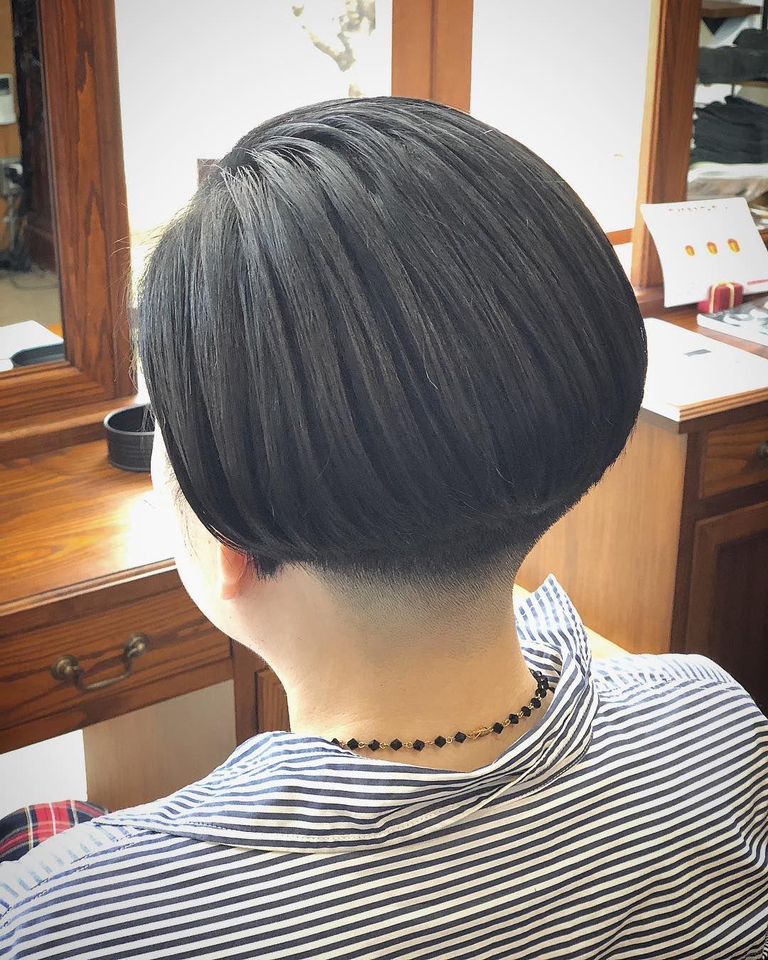 Hair Ideas おしゃれまとめの人気アイデア Pinterest Jing Wun Hsiao 襟足 刈り上げ