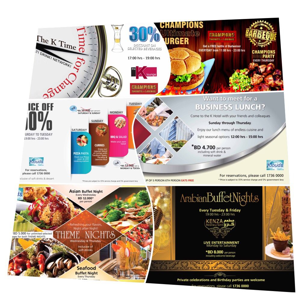 Indulge In A Wide Selection Of Food And Beverage Offerings With