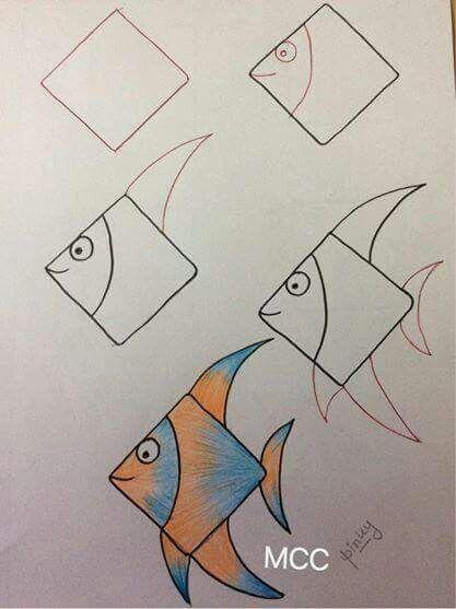Pin By Lynn Dang On Scuola Easy Drawings Art Drawings For Kids Easy Drawings For Kids