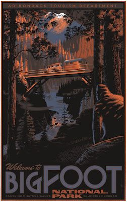 Big Foot Poster  this thrills me!  www.durangomom.com