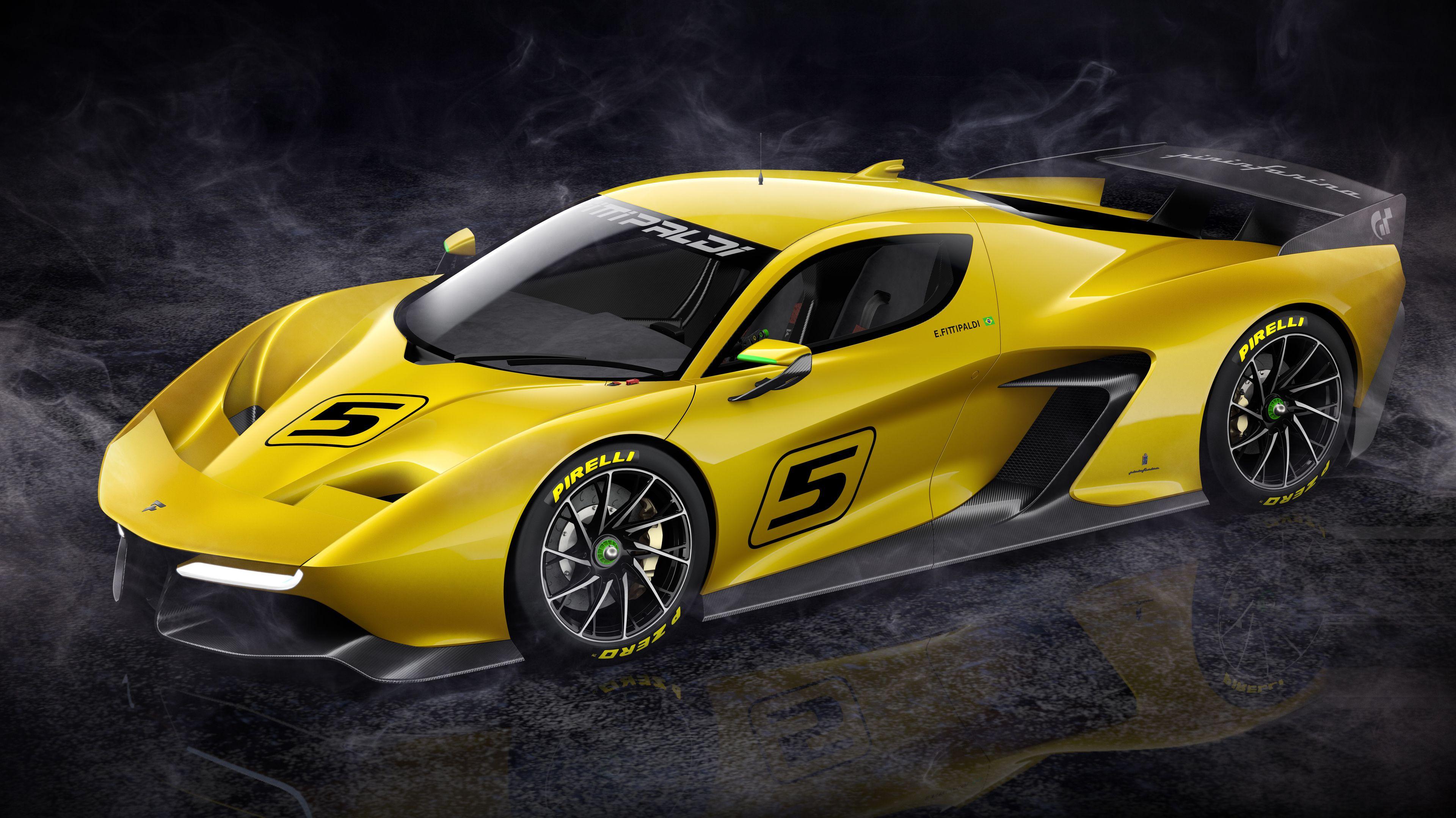 Wallpaper 4k Fittipaldi EF7 Vision Gran Turismo Limited